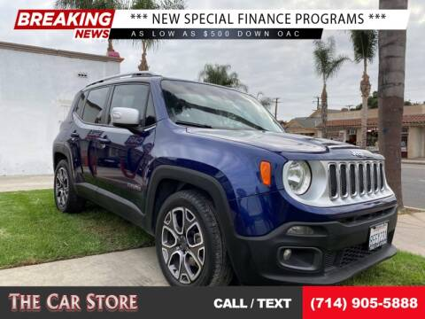 2016 Jeep Renegade for sale at The Car Store in Santa Ana CA