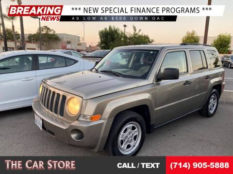 2008 Jeep Patriot for sale at The Car Store in Santa Ana CA