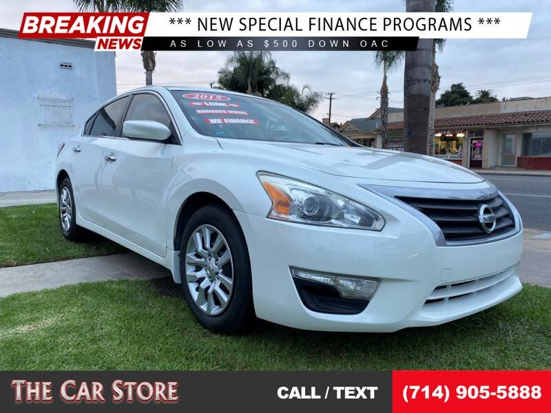 2015 Nissan Altima for sale at The Car Store in Santa Ana CA