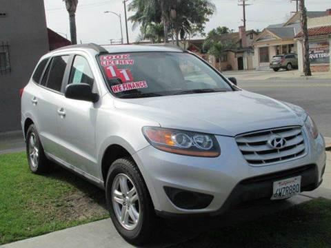 2011 Hyundai Santa Fe for sale at The Car Store in Santa Ana CA