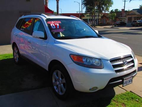 2007 Hyundai Santa Fe for sale in Santa Ana, CA