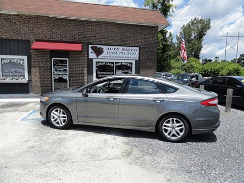 2013 Ford Fusion for sale in Ladson, SC