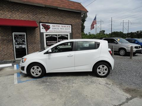 2014 Chevrolet Sonic for sale in Ladson, SC