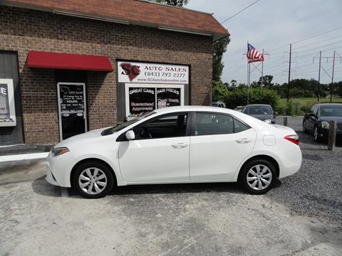 2014 Toyota Corolla for sale in Ladson, SC
