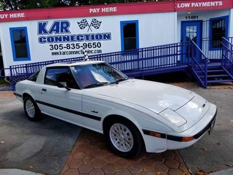 1984 Mazda RX-7 for sale in Miami, FL
