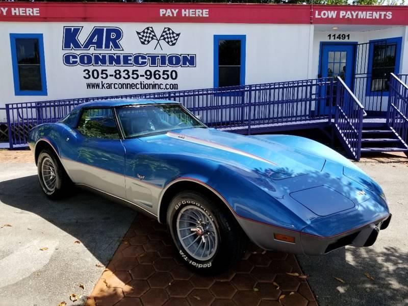 1979 Chevrolet Corvette L82 - Miami FL
