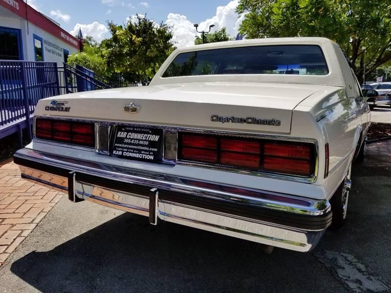 1987 Chevrolet Caprice LS Brougham 4dr Sedan - Miami FL