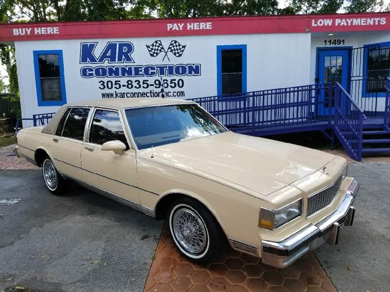 1989 Chevrolet Caprice Classic Brougham In Miami FL - Kar Connection
