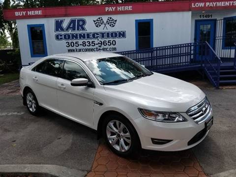 2011 Ford Taurus for sale at Kar Connection in Miami FL