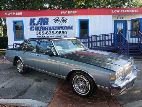 speical offer sneakers for cheap finest selection 1989 Chevrolet Caprice for sale in Miami, FL