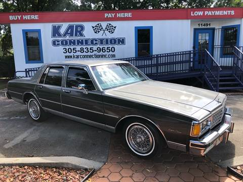 1984 Chevrolet Caprice For Sale Carsforsale