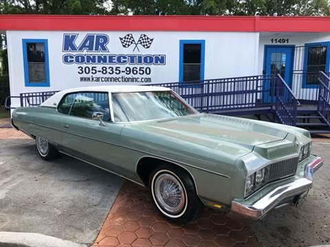 1973 Chevrolet Impala For Sale In Miami Fl