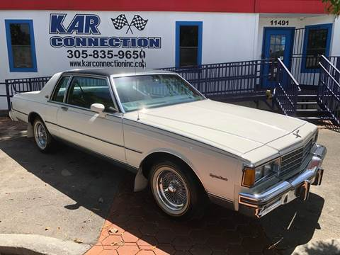 used 1985 chevrolet caprice for sale in fort lauderdale fl carsforsale com carsforsale com