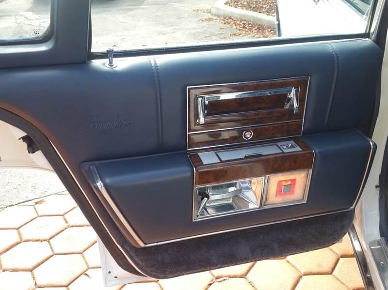 1991 Cadillac Brougham 4dr Sedan - Miami FL