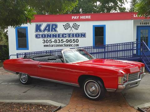 1971 Chevrolet Impala for sale at Kar Connection in Miami FL