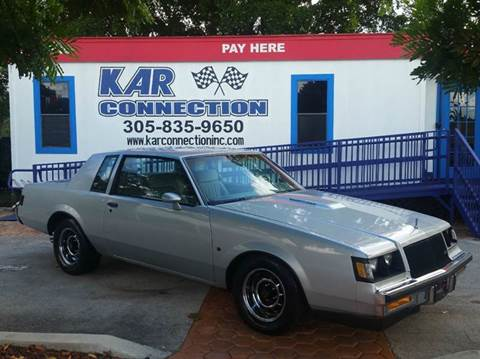 1987 Buick Regal for sale at Kar Connection in Miami FL