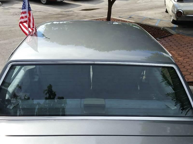1989 Chevrolet Caprice Classic 4dr Sedan - Miami FL