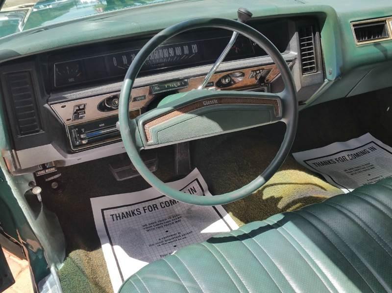 1973 Chevrolet Caprice Convertible - Miami FL