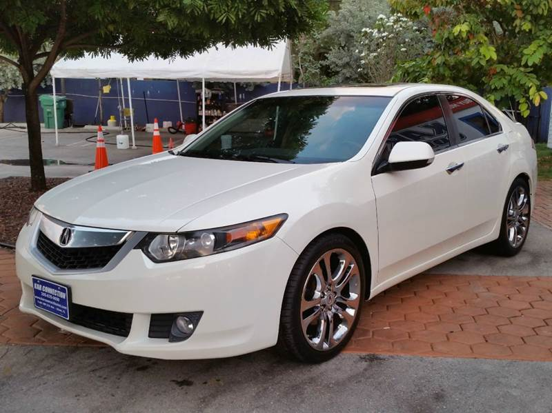 2009 acura tsx w tech 4dr sedan 5a w technology package in miami fl kar connection. Black Bedroom Furniture Sets. Home Design Ideas