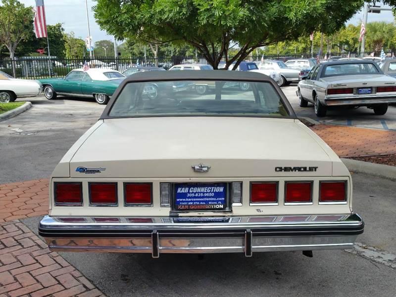 1985 Chevrolet Caprice Classic 2dr Coupe - Miami FL