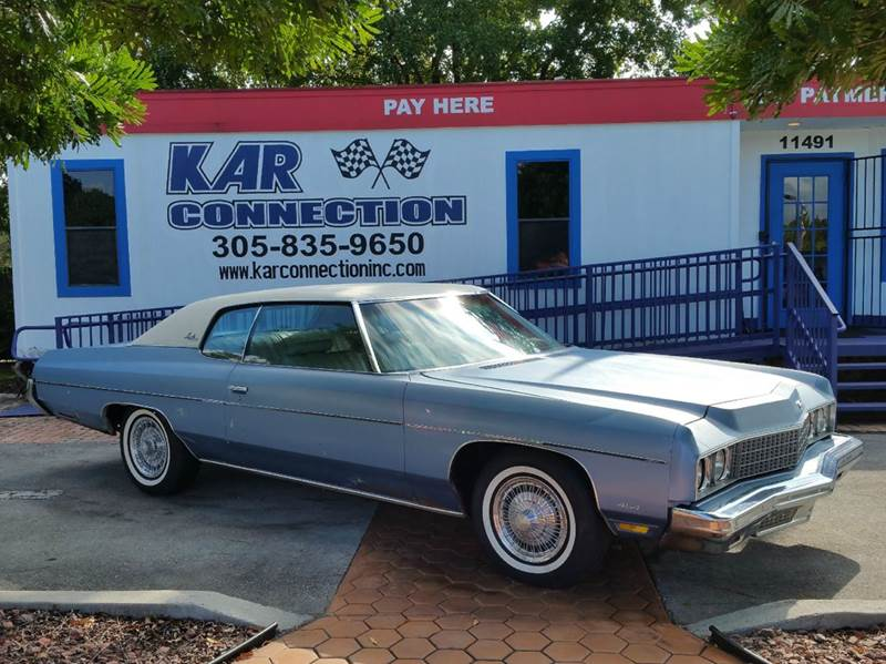 1973 chevrolet impala in miami fl kar connection. Black Bedroom Furniture Sets. Home Design Ideas