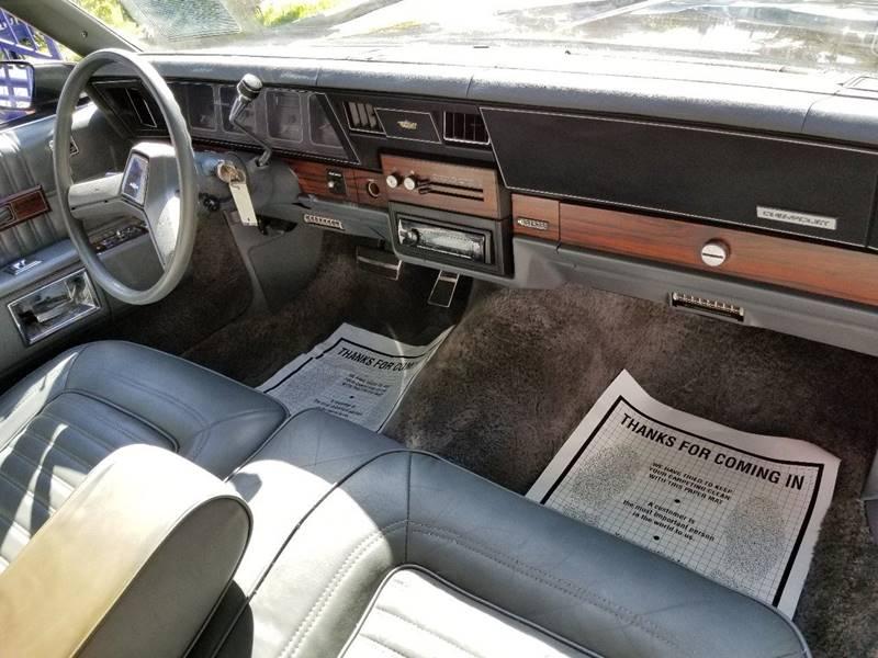 1989 Chevrolet Caprice Classic Brougham 4dr Sedan - Miami FL