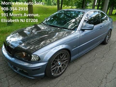 2002 BMW 3 Series for sale at Morris Ave Auto Sale in Elizabeth NJ