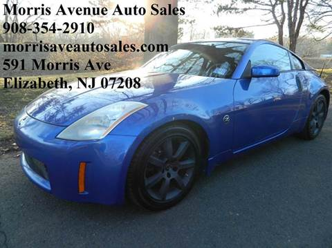 2005 Nissan 350Z for sale at Morris Ave Auto Sale in Elizabeth NJ