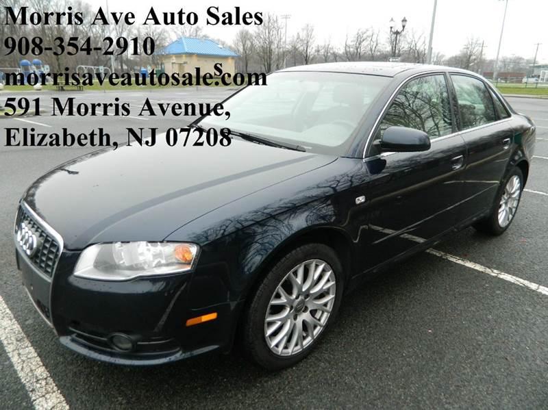 2008 Audi A4 for sale at Morris Ave Auto Sale in Elizabeth NJ