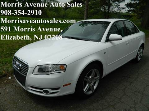 2007 Audi A4 for sale at Morris Ave Auto Sale in Elizabeth NJ