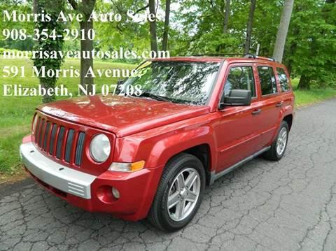 2007 Jeep Patriot for sale at Morris Ave Auto Sale in Elizabeth NJ