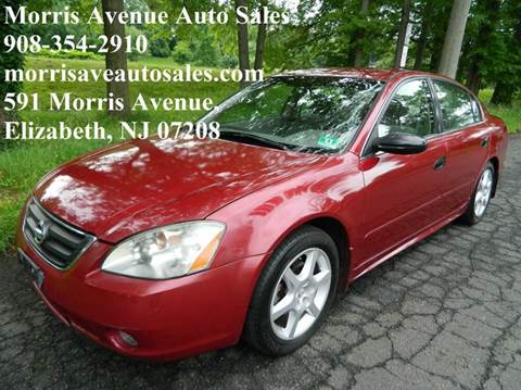 2003 Nissan Altima for sale at Morris Ave Auto Sale in Elizabeth NJ