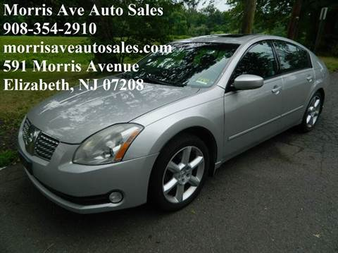 2006 Nissan Maxima for sale at Morris Ave Auto Sale in Elizabeth NJ