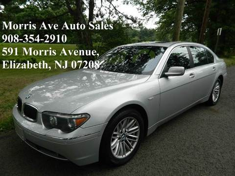2004 BMW 7 Series for sale at Morris Ave Auto Sale in Elizabeth NJ