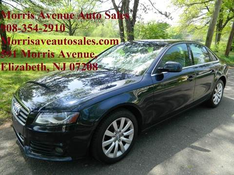 2009 Audi A4 for sale at Morris Ave Auto Sale in Elizabeth NJ