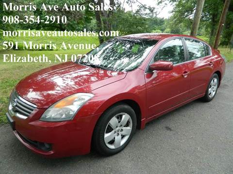 2008 Nissan Altima for sale at Morris Ave Auto Sale in Elizabeth NJ