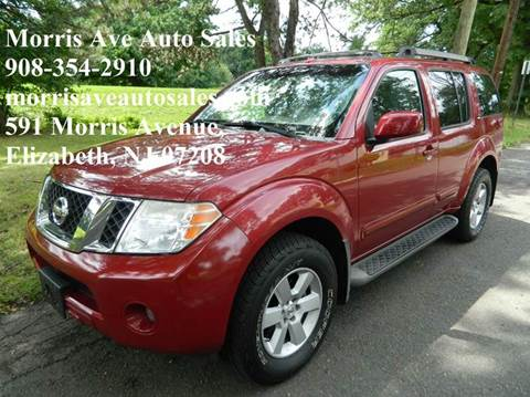 2008 Nissan Pathfinder for sale at Morris Ave Auto Sale in Elizabeth NJ