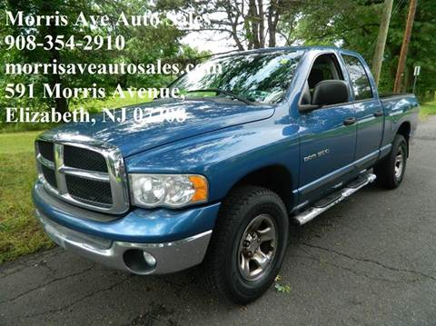2004 Dodge Ram Pickup 1500 for sale at Morris Ave Auto Sale in Elizabeth NJ