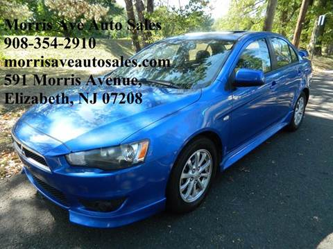 2011 Mitsubishi Lancer for sale at Morris Ave Auto Sale in Elizabeth NJ