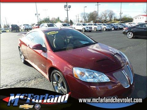 2008 Pontiac G6 for sale in Maysville, KY