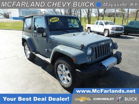 2015 Jeep Wrangler for sale in Maysville, KY