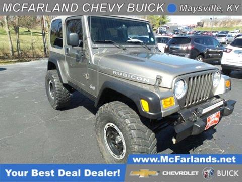 2003 Jeep Wrangler for sale in Maysville, KY