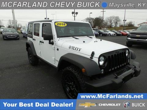 2018 Jeep Wrangler Unlimited for sale in Maysville, KY
