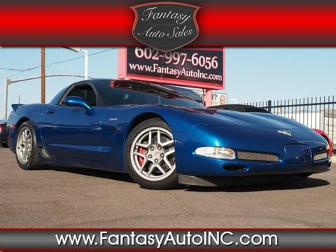 2003 Chevrolet Corvette for sale in Phoenix, AZ