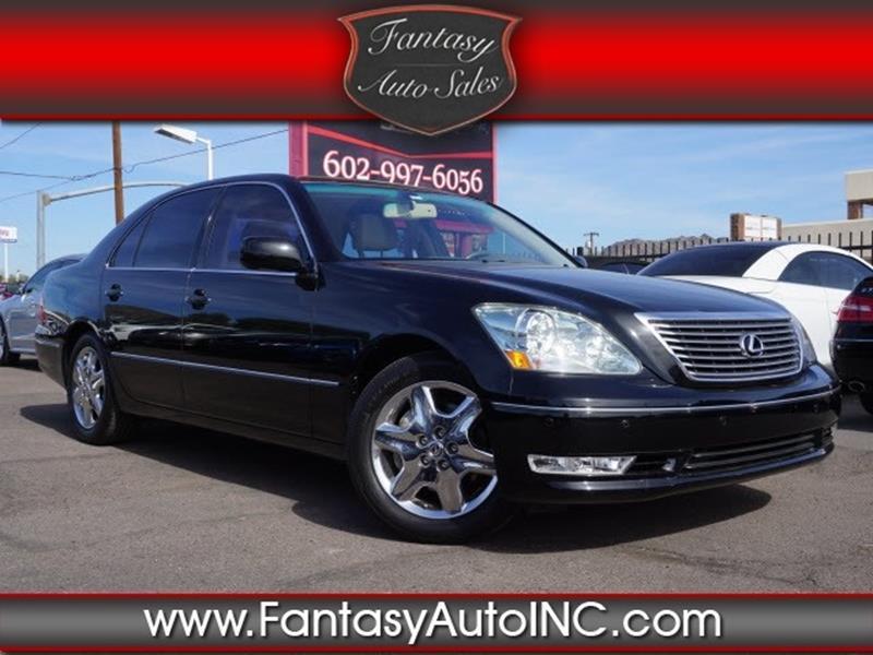 2004 Lexus LS 430 In Phoenix AZ - Fantasy Auto Sales Inc