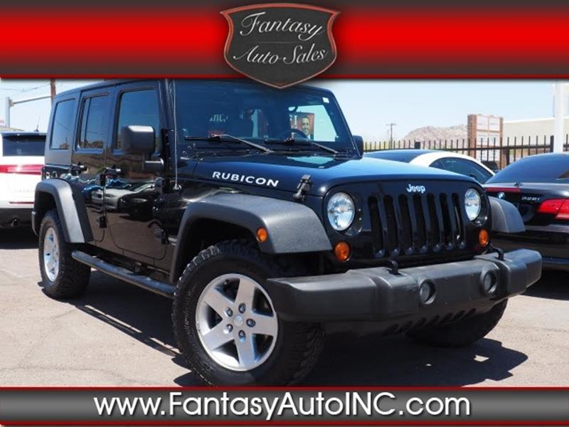 2007 Jeep Wrangler Unlimited For Sale At Fantasy Auto Sales Inc In Phoenix  AZ