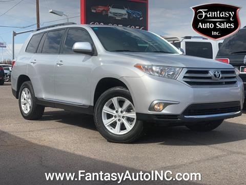 2013 Toyota Highlander for sale in Phoenix, AZ