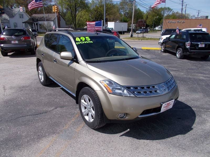 Detroit Used Car for Sale 2007 Nissan Murano 48089 at D & D All ...