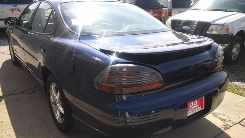 2000 Pontiac Grand Prix Detroit Used Car for Sale