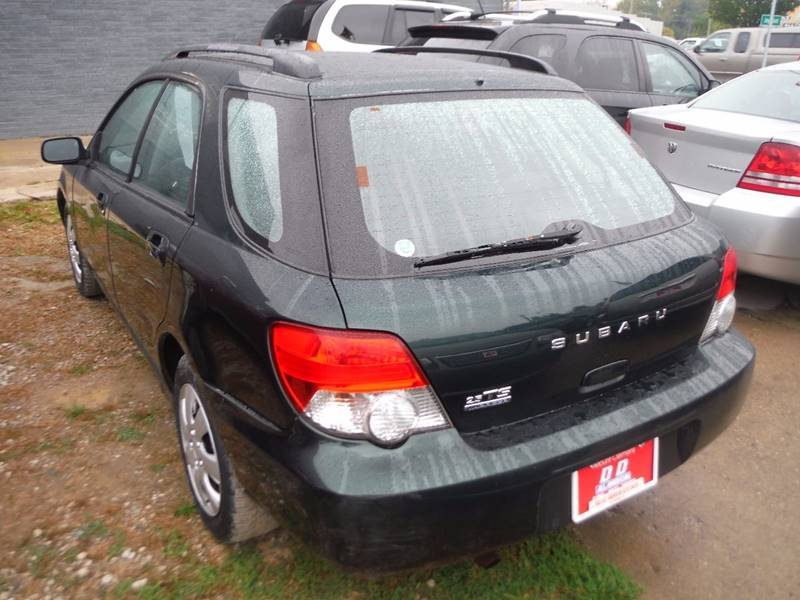 2004 Subaru Impreza Detroit Used Car for Sale